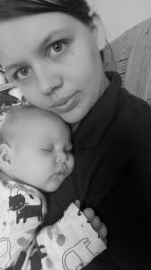 Tamás Krisztina és baba